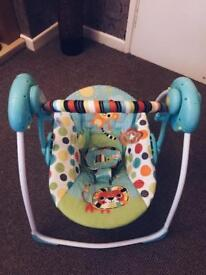 Baby swing excellent condition