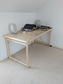 Wooden IKEA Working Desk | Collapsible Foldable