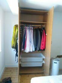 Ikea wardrobe - used but in good condition