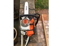 Stihl MS260 chainsaw