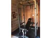 Complete Garage/home Gym Set up - Commercial Quality