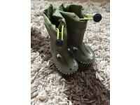 Clarke's Wellies and shoes Infant size 4