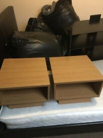 Pair Of Modern Bedside Tables