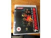 Play station 3 Game - Metal Gear Solid 4