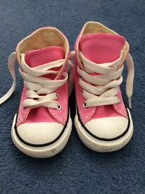 Toddler girls Converse