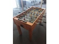 4ft x 2ft Wooden Football / Foosball Table, Free-Standing /w 2 Balls