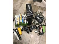 Xbox 360 games plus 120gb hard drive