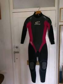 Ladies wet suit.