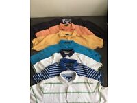 7 Polo Shirts - Sold Together - Ralph Lauren, Tommy Hilfiger