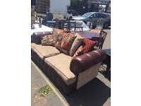Good quality 3 seater Moroccan style sofa