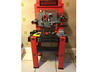 SMOBY Black and Decker kids work tool bench
