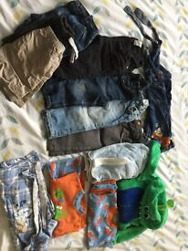 Age 9-12 months boys clothes bundle