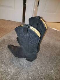 Sancho cowgirl boots black