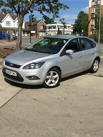 2009 SILVER FORD FOCUS 1.6 DIESEL ZETEC 5 DOOR