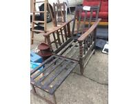Edwardian Metamorphic Chair (to Clear)