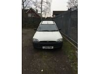 Ford Escort Van 55D Very low Miliage Full Mot