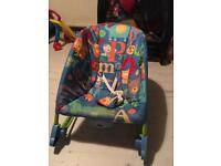 Fisher Price Rocking Chair From Birth Very Good Condition