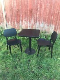 Shop/Restaurant Table & Chairs Set