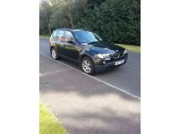 2007 BMW X3 SE Full Leather with only 79000 miles - Full MoT