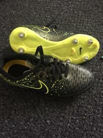 Nike football boots size 5 and1/2