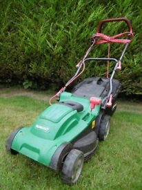 Electric Rotary Lawn Mower: Qualcast, 37cm (14.5in),1600W- Used
