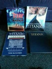 Books on the titanic from its voge to the sinking