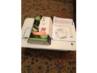 HP Home Printer/Coper/Scanner with wifi, nearly new, plus ink cartridges