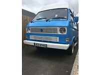VW T25 Transporter 1984 1.9 petrol MOT until 1st May 2018