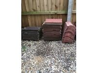 3 different types of roof tiles ,40 in total