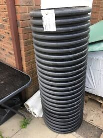 Twin wall pipe suitable for new drains