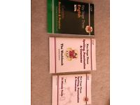 KS3 English workbook and revision guide set- new
