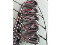 Left handed Adams golf clubs