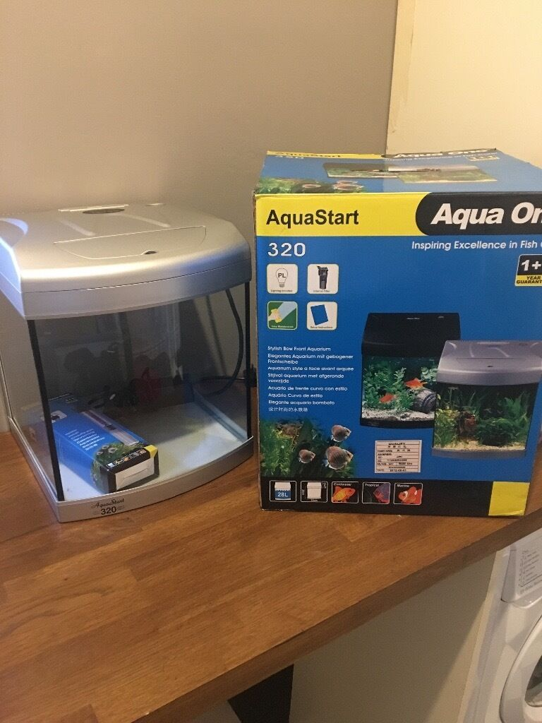 Fish tank used - 28l Fish Tank Used Once Like New