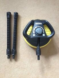KARCHER PATIO CLEANER WITH EXTENSION POLES BRAND NEW
