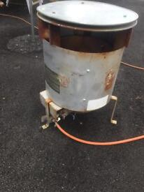 Propane industrial space heater