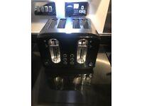 4 slice Black Asda Toaster