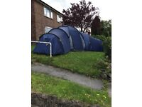 6 Birth Tent with 3 separate pod bedrooms