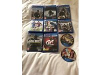 10 PS4 games. All in excellent condition. Please see picture for titles. £60 NO OFFERS. CAN DELIVER