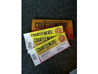 3xCourteeners Tickets for Saturday 27th at Old Trafford Cricket Ground