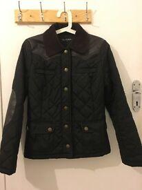 Miss Selfridge Padded Jacket/Coat size S UK 8 (bonus black Guess handbag)