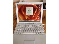 iBook G4 PowerPC Laptop - Fully Working