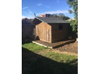 FREE Large garden shed 2.4m x 2.4m