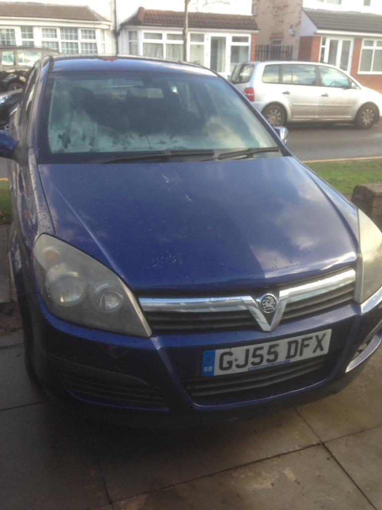 2006 (55) Vauxhall Astra 1.3 cdti diesel 12 months mot