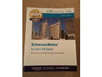 CFA 2 Schweser Study Guides