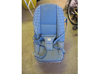Rocking baby chair.