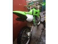 Swaps Kx100cc 2002 year