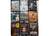 Dvds mainly horror