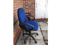 Computer Swivel Task Typist Operator Office Home Office Chair Arms