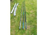 3 windsurf poles in excellent condition.......90 for all 3.