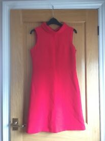SIZE 10 F&F RED LINED DRESS